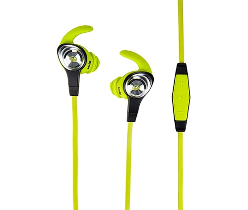 audifonos monster sport color verde