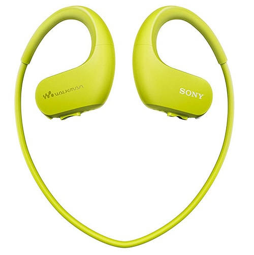 reproductor mp3 Sony sumergible Walkman NW-WS413 color verde para natacion