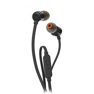 JBL T110BLK alambricos estos audifonos con alambricos tipo in ear