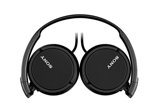 auriculares sony color negro modelo MDRZX110APBC