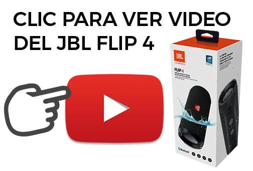 unboxing en español de la bocina jbl flip 4