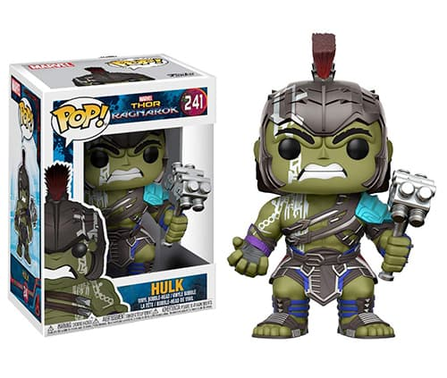 funko pop thor ragnarok hulk gladiador con casco