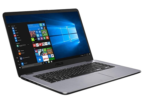 laptop asus pro VivoBook con windows 10 y memoria ram de 4gb, color negra
