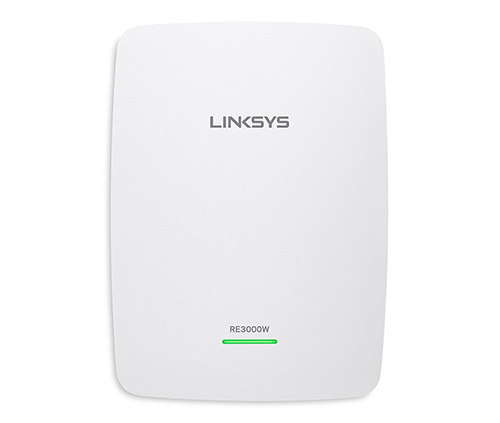 repetidor wifi linksys re3000w, hasta 300 megas de velocidad, color blanco