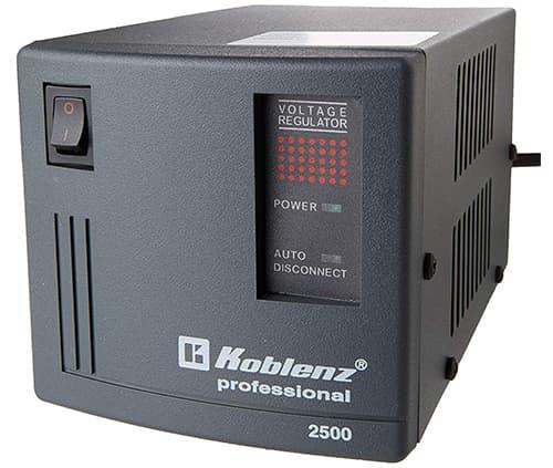 Regulador de voltaje koblenz er-2550 para pc