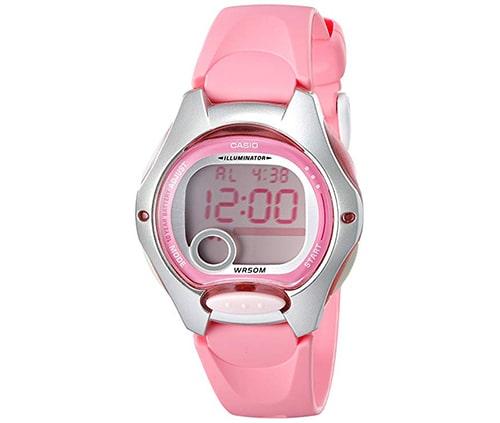 reloj casio deportivo color rosado para damas