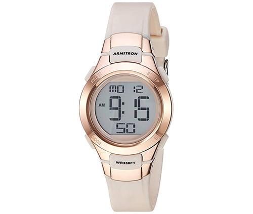 reloj para dama deportivo marca armitron para bucear, correr y nadar