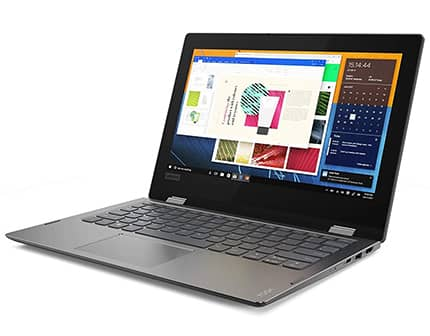 laptop lenovo yoga ideapad con procesador amd a9 y 4gb de memoria ram, unidad de disco dvd