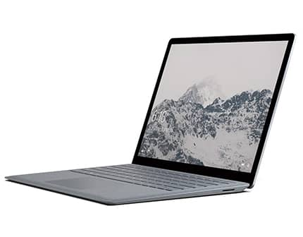 laptop Microsoft Surface Pro color platino con procesador intel i5 y 8gb de memoria ram
