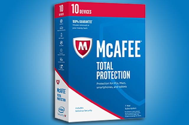 mcafee es uno de los mejores antivirus para windows 10