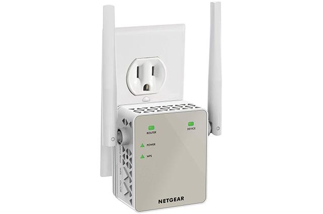 repetidor de wifi netgear ex6120, diseño pequeño, con 1200mbps de transmision, banda dual