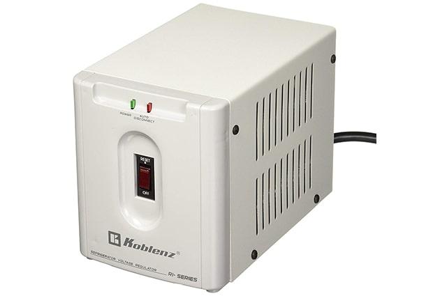 regulador de energia para refrigerador marca koblenz de 2500 watts
