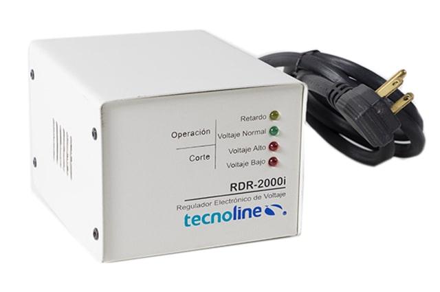 tecnoline 2000watts regulador de energia para linea blanca de metal
