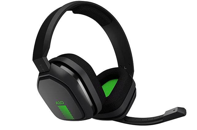 estos audifonos Astro Gaming A10 con cable, con microfono son los mejores para jugar con tu consola