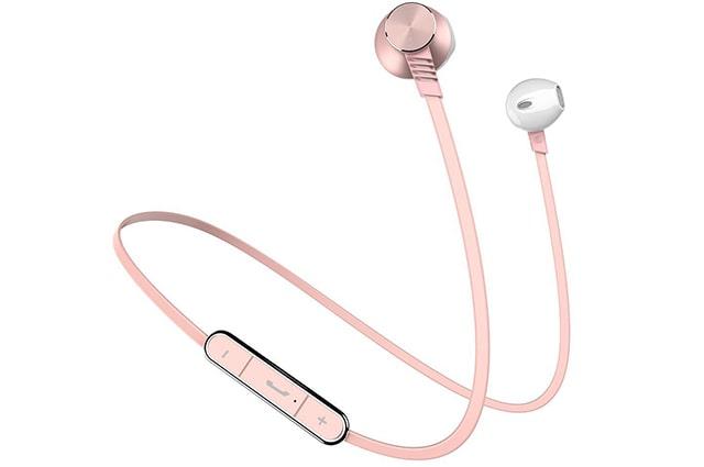audifonos inalambricos tipo in ear deportivos, los mas baratos del mercado y mas vendidos en amazon mexico, tienen buen sonido y ademas son deportivos