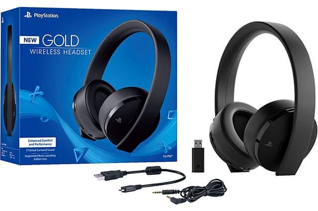 sony gold: estos son los mejores audifonos para ps4, ya que son los originales creados por sony y ademas ofrecen sonido 7.1 envolvente y son inalambricos