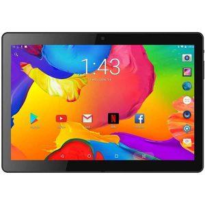 tablet de 10 pulgadas con bonito diseño, color negra 7 16gb de memoria interna